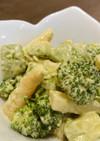 ブロッコリーとアスパラとアボカドのサラダ
