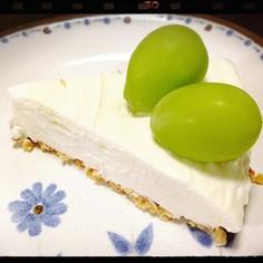 水切ヨーグルトマシュマロレアチーズケーキ