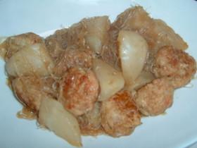 かぶと海老豚団子の中華煮
