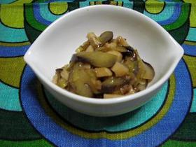 高野豆腐入りナスマーボ