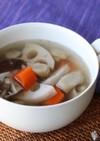 液体塩こうじ使用!鶏肉と根菜のスープ