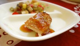 学校給食♪鶏肉のはちみつソース