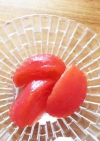 糖質制限:トマトのさっぱり和風マリネ