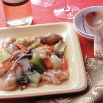 かきの中国風炒め煮