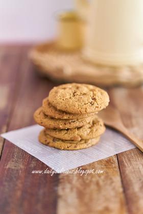 ダブルピーナッツバタークッキー