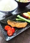 簡単コク旨☆鮭のメープル生姜焼き。