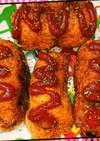 余った桜餅の餅で揚げパン風