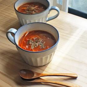 ローズヒップとトマトの美人スープ