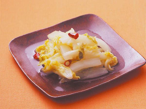 白菜のピリ辛甘酢炒め