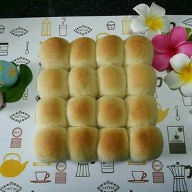 還暦近い男が初のちぎりパン作り。