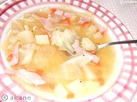 あったまる野菜スープ