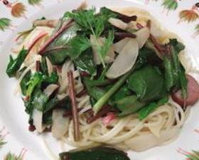 菊芋のスパゲティー