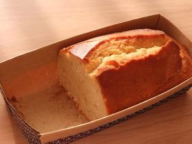 ばななとチーズのふんわりケーキ