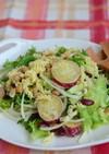 さつま芋とマカロニのデリ風サラダ