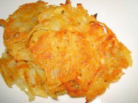 チーズ味のハッシュドポテト