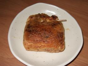 簡単!トースターで余ったカレーを包み焼き