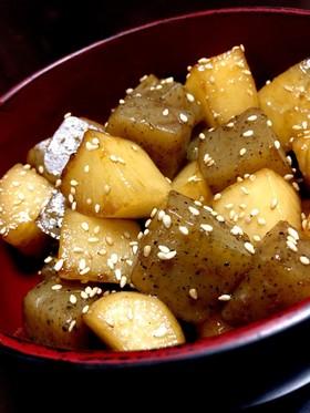 こんにゃくと大根の炒め煮 常備菜