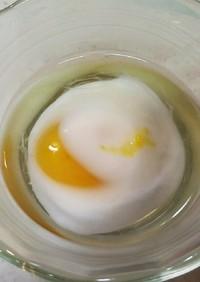 レンチン40秒の温泉卵