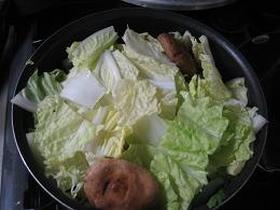 あったか☆白菜だんだん鍋