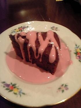 ラズベリークリームチョコレートケーキ