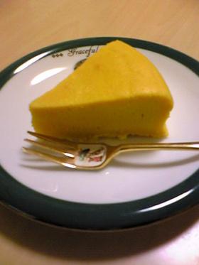 まぜまぜ☆簡単パンプキンケーキ♪