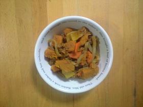 我が家の定番~肉かぼちゃ