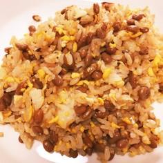 ✨納豆チャーハン✨タレはあとがけで♪