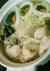 博多の鍋・水炊き(圧力鍋でスープ)