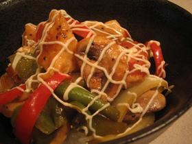 レモン&ペッパー風味 鶏野菜炒めDon