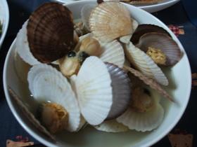 ☆ほたての稚貝のおみそ汁☆
