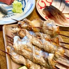 簡単!太刀魚のグルグル串焼き