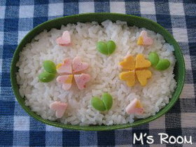 お弁当ご飯の飾り*2*