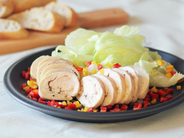 オーブン鶏ハム