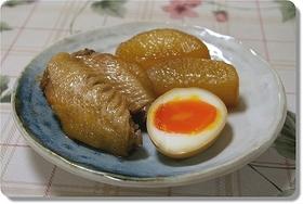 とろーり半熟卵・常備調味料で味付け!