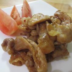 豚のメープル生姜焼き