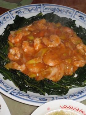 わが家の☆乾焼蝦仁(海老のチリソース煮)