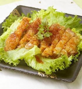 韓国風から揚げ♬簡単ヤンニョムチキン