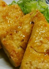 ♡簡単!!甘辛タレに絡めた豆腐ステーキ♡