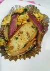 玉葱と蒲鉾の卵とじ