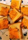 鯖の味噌煮缶チーズトースト