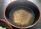 ★とろろ昆布の味噌汁