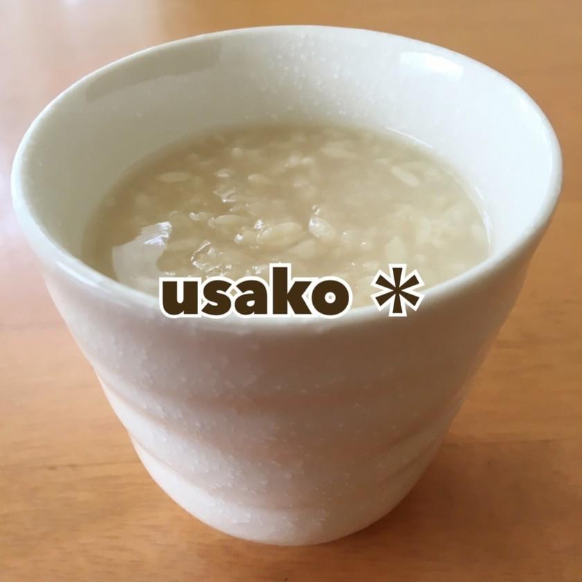 節約★炊飯器で米麹の甘酒