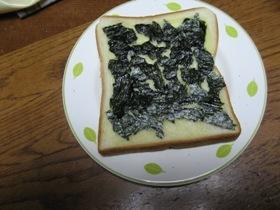 海苔チーズトースト