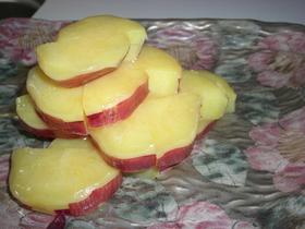 わーきれい!さつま芋のレモン煮