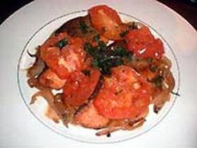 鮭のトマト煮