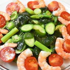 釜石 中村家 夏野菜の生塩糀サラダ