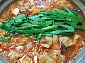 ウマ辛☆キムチ鍋