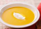 かぼちゃの北海道♪ヨーグルトスープ