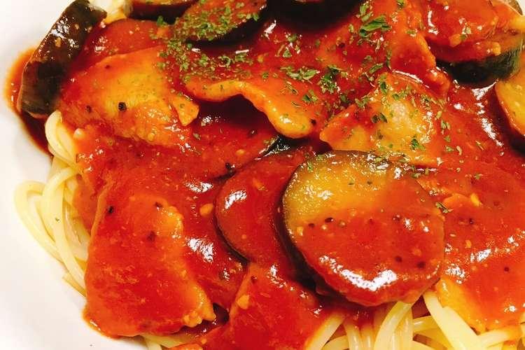 簡単 トマトジュースでコクうまパスタ レシピ 作り方 By くろぶちたかし クックパッド