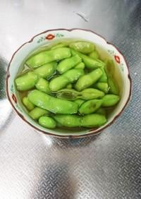 枝豆下処理方法&絶品枝豆だし汁煮